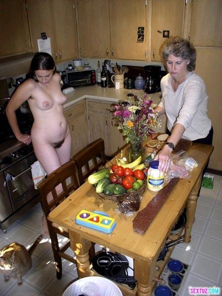 фото голые родители