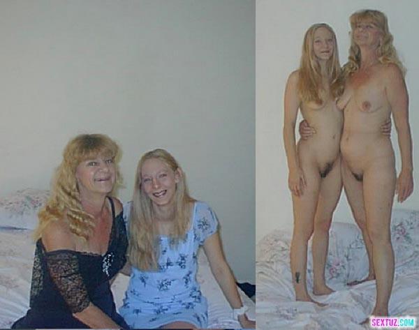 Голые Мамы С Дочками Без Трусов